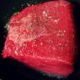 気軽に作れる簡単ローストビーフ(※ただしすぐには食べられません)