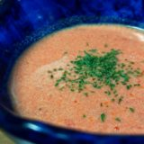 早い美味い洗い物少ない 干しエビ粉で作るエビのビスク風スープ